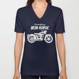 Thoroughbred Iron Horse Unisex V-Neck