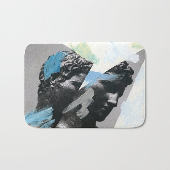 Untitled (Painted Composition 1) Bath Mat