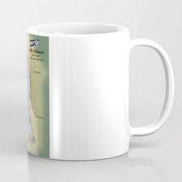 Lake Malawi,travel poster map print Coffee Mug