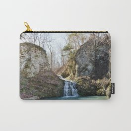 Alone in Secret Hollow with the Caves, Cascades, and Critters, No. 1 of 21 Carry-All Pouch