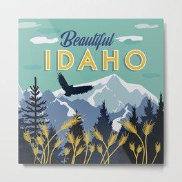 Beautiful Idaho Metal Print