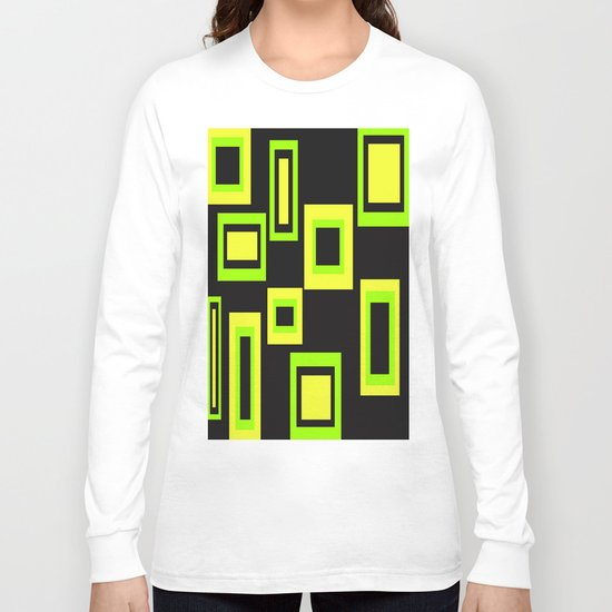 Abstract squares Long Sleeve T-shirt