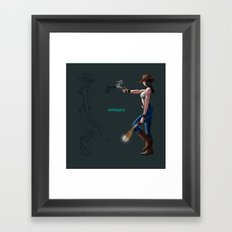 Machete! Framed Art Print