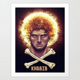 Khabib Time Art Print