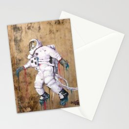 My Father became an Astronaut to young Stationery Cards