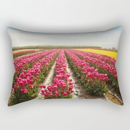Oregon tulip festival Rectangular Pillow