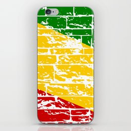Rastafari Flag iPhone Skin
