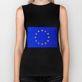 EU Flag Biker Tank
