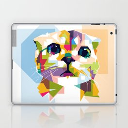 Little colorful cat Laptop & iPad Skin