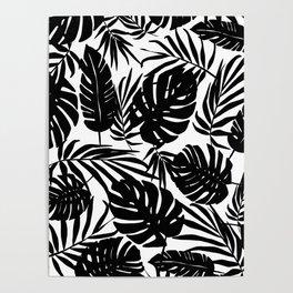 Urban Jungle White Poster