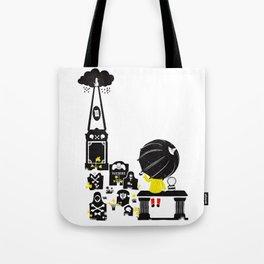 Howff ye bin? (or the meeting place) Tote Bag