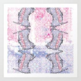 Interiors Art Print