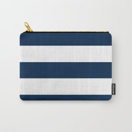 Navy Stripes | Digital Design | Pattern Carry-All Pouch
