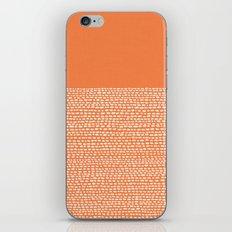 Riverside - Celosia Orange iPhone & iPod Skin