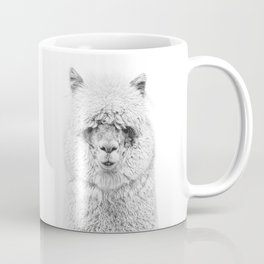 Alpaca, Animal Photo, Fine Animal, Animal Portrait Coffee Mug