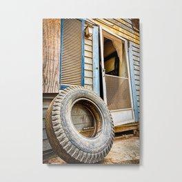 Curb Appeal Metal Print