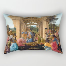 Sandro Botticelli The Adoration of the Magi Rectangular Pillow