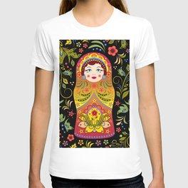 Russian matrioshka T-shirt