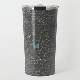 Math Lesson Travel Mug