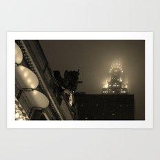 Chrysler Building Art Print