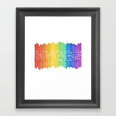Hygge for All Framed Art Print