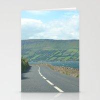 ruben ireland Stationery Cards featuring Ireland by Fiona S