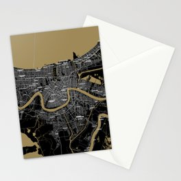 FanMap | NFL New Orleans #06 Stationery Cards