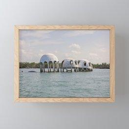 Cape Romano Domes Framed Mini Art Print