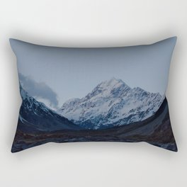 aoraki at dusk Rectangular Pillow