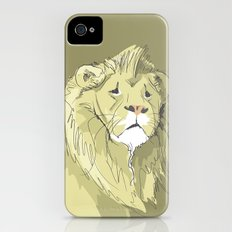 The Sad Lion Slim Case iPhone (4, 4s)