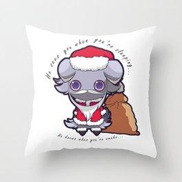 Santa Espurr Throw Pillow