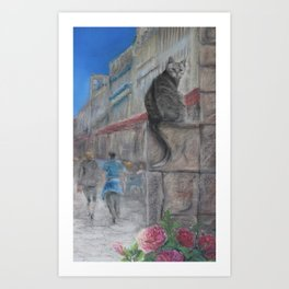 His Part of the Story Art Print