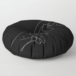 toucher Floor Pillow