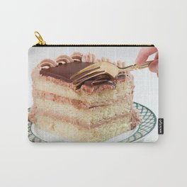 Layered Cake with Frosting Photograph Carry-All Pouch