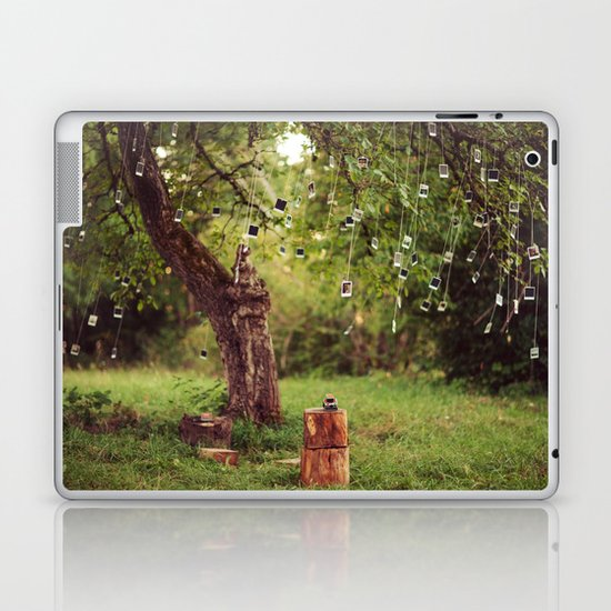 Polaroid Tree Laptop & iPad Skin