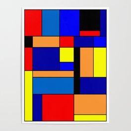 Mondrian #2 Poster