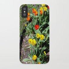 Tulip Garden ~ spring flowers for u iPhone X Slim Case