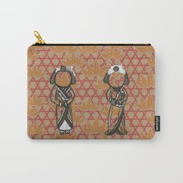 The Seventh and Eighth Beautiful Geishas Carry-All Pouch