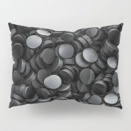 Hockey pucks Pillow Sham