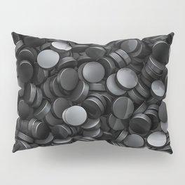 Hockey pucks Pillow Sham