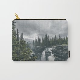 Landscape Athabasca Falls Christmas Carry-All Pouch