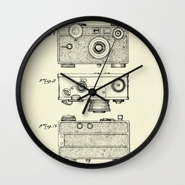 Photographic Camera-1938 Wall Clock