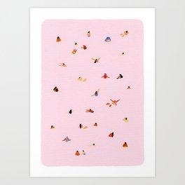 Pink! Art Print