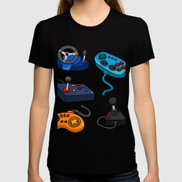 Video Game  Controls T-shirt