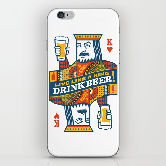 King of Beers iPhone & iPod Skin