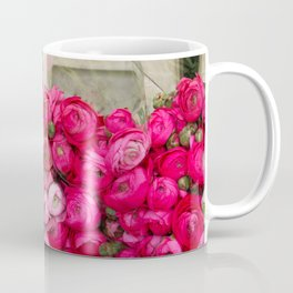 Paris Marché Flower Piles Coffee Mug