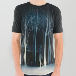 sleeted All Over Graphic Tee