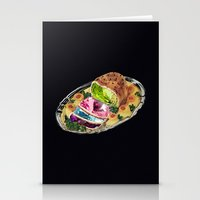 gem Stationery Cards featuring Gem Roast by Eugenia Loli