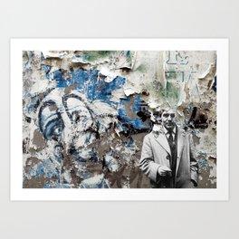 Becon-les-Bruyères Art Print