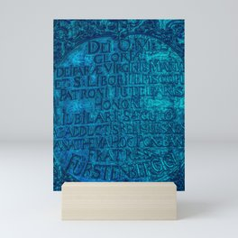 urbet santos Mini Art Print